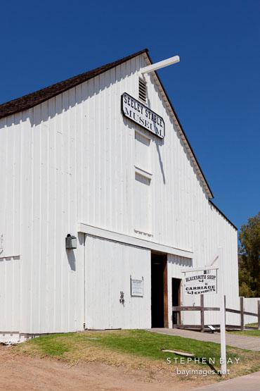 Seeley stables. Heritage Park, San Diego.