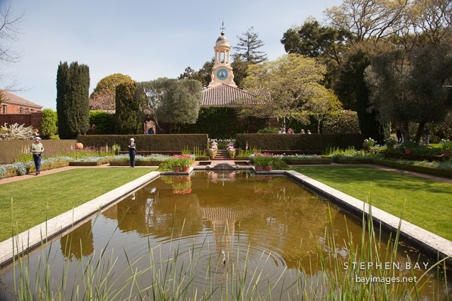 Photo pool at filoli estate for Filoli garden pool