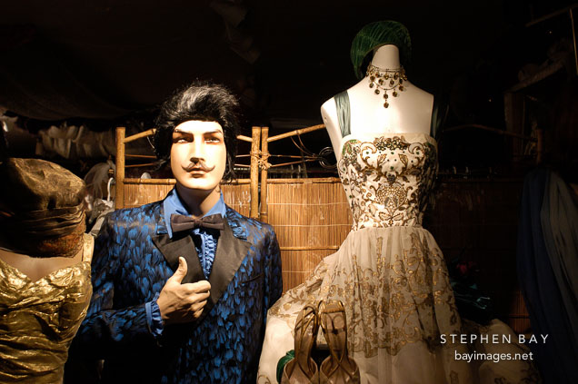 Vintage clothing store. Palo Alto, California, USA