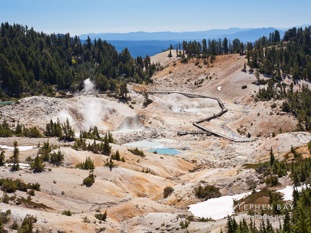 Bumpass Hell, Lassen Volcanic National Park.