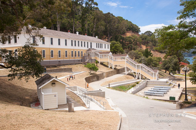 Detention barracks at Angel Island Immigration Station.g