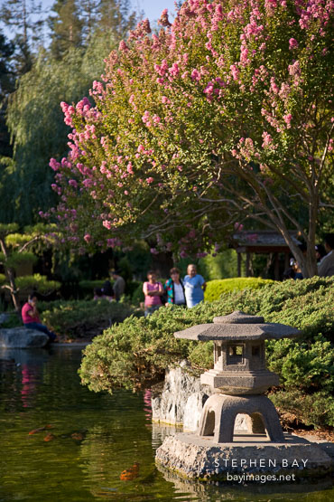 Photo: Japanese Friendship Garden. San Jose, California