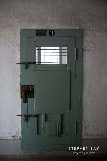 The imposing door to cell number eleven at Seodaemun Prison in Seoul South Korea. & Photo: The imposing door to cell number eleven at Seodaemun Prison ...