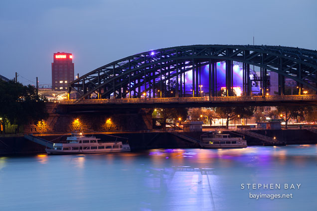 Hohenzollern Bridge. Cologne, Germany