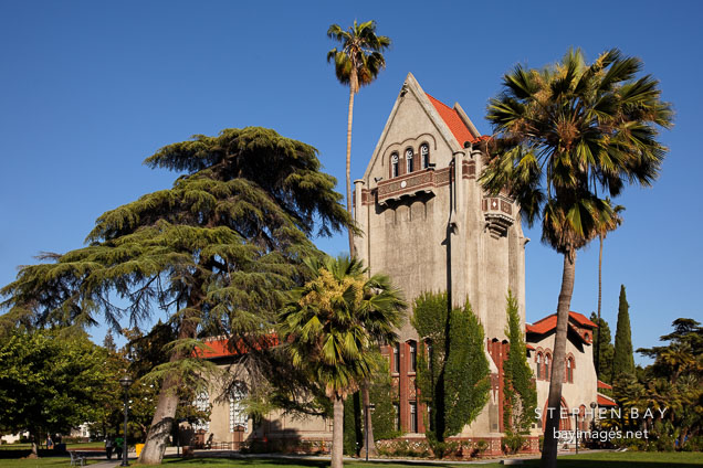 Tower Hall is a historic landmark on the San Jose State University campus.