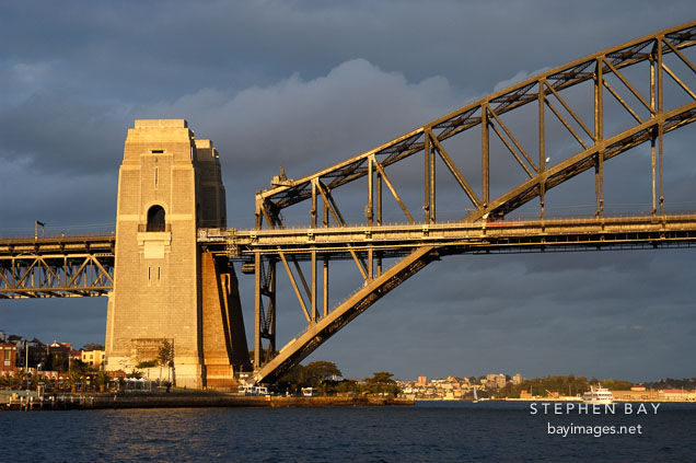 Sydney Harbour bridge. Sydney, New South Wales, Australia.