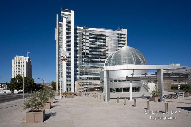 San Jose City Hall, afternoon. San Jose, California.
