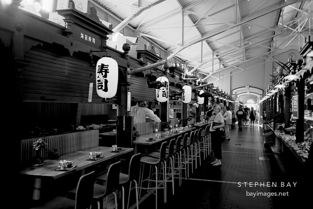Photo Japanese Restaurant In The Old Market Hall Vanha