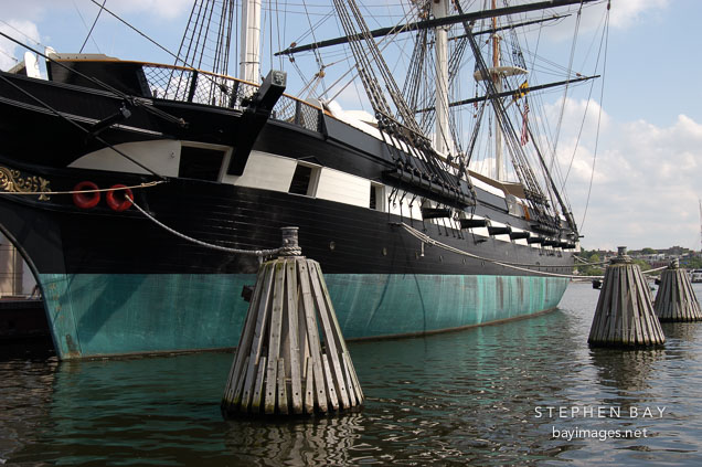 USS Constellation. Baltimore, Maryland, USA.