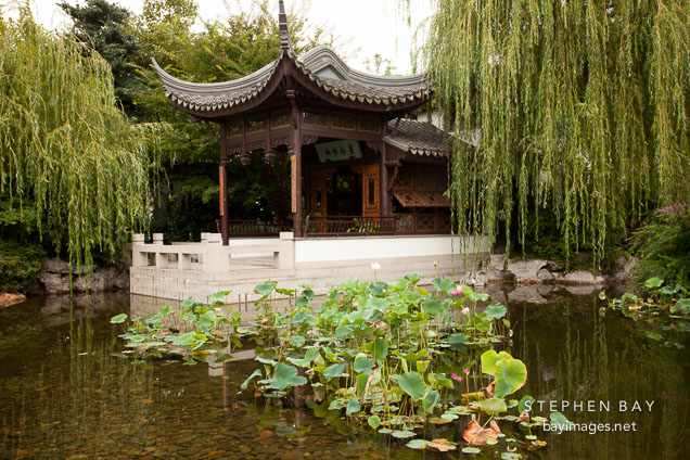 Photo Classical Chinese Garden Portland Oregon
