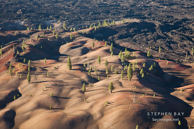 Painted Dunes. Lassen Volcanic National Park, California.