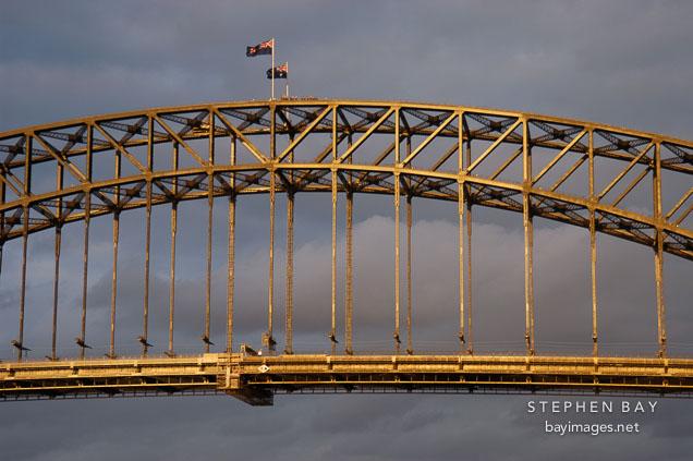 Sydney Harbour bridge. Sydney, Australia.
