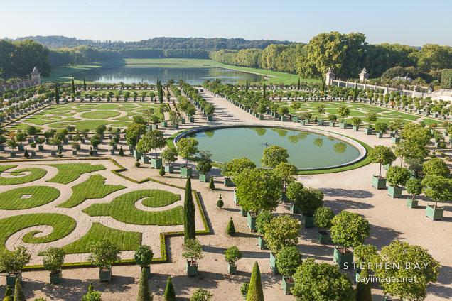 Versailles Orangerie, A Grand Citrus Garden. Versailles, France.