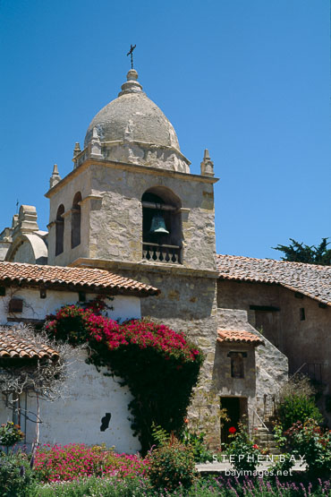 Carmel Mission. San Carlos Borromeo de Carmelo. Carmel, California, USA.
