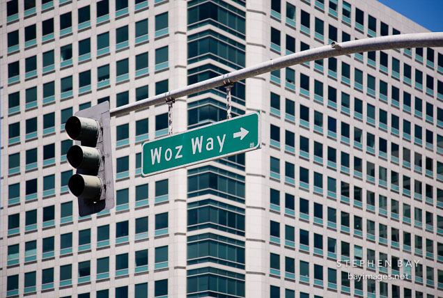 Woz Way. San Jose, California.
