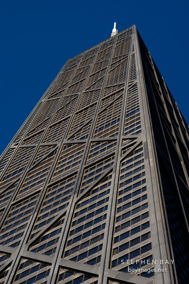 John Hancock Tower. Chicago, Illinois, USA.