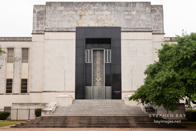 Masonic Temple. Dallas, Texas.
