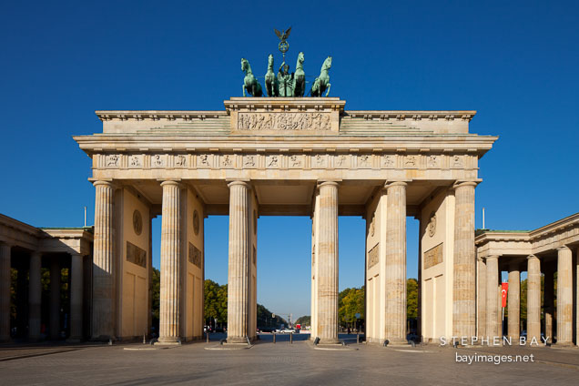 Brandenburg Gate. Berlin, Germany.