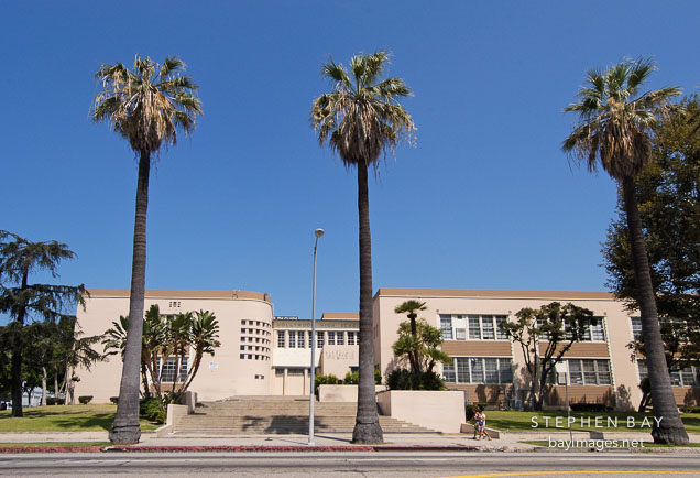 photo hollywood high school sunset boulevard los angeles