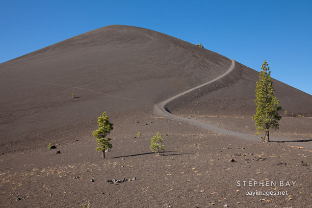 Cinder Cone. Lassen Volcanic National Park, California.