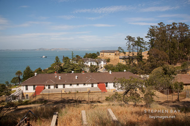 Angel Island Immigration Station. California.
