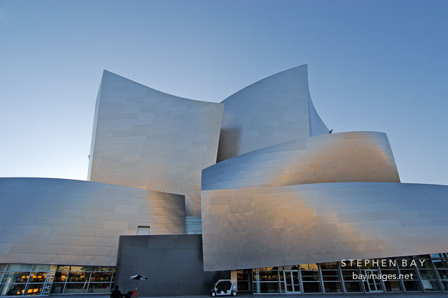 Walt Disney Concert Hall. Los Angeles, California, USA.