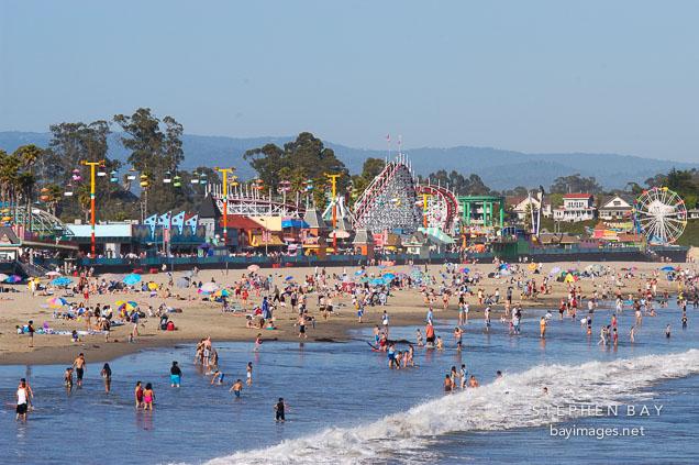 Santa Cruz Beach Boardwalk Santa Cruz California Usa