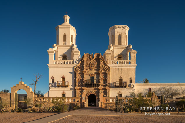 Mission San Xavier Del Bac, Tucson Arizona.
