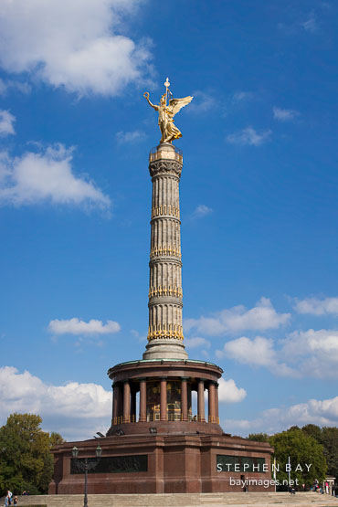 Berlin Victory Column. Berlin, Germany.