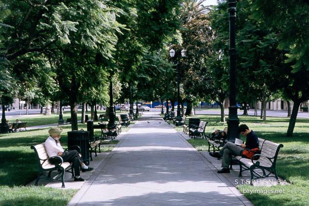 Plaza park. San Jose, California.