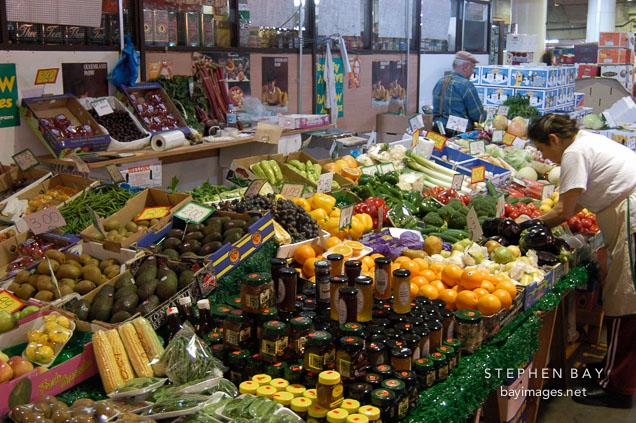 Produce at Paddy's market. Sydney, Australia.