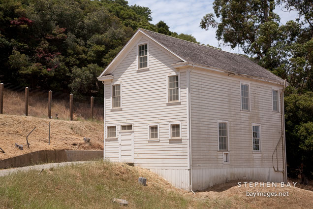 Mule barn. Angel Island Immigration Station, California.