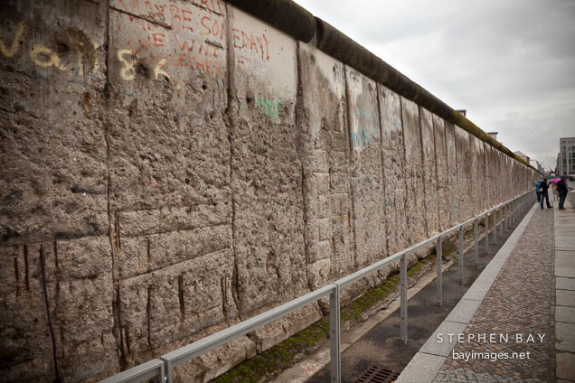 The Berlin Wall. Berlin, Germany