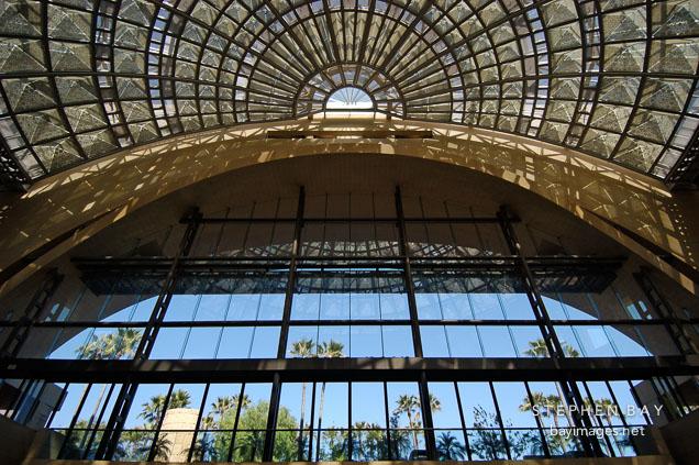 East lobby of Union station. Los Angeles, California, USA.