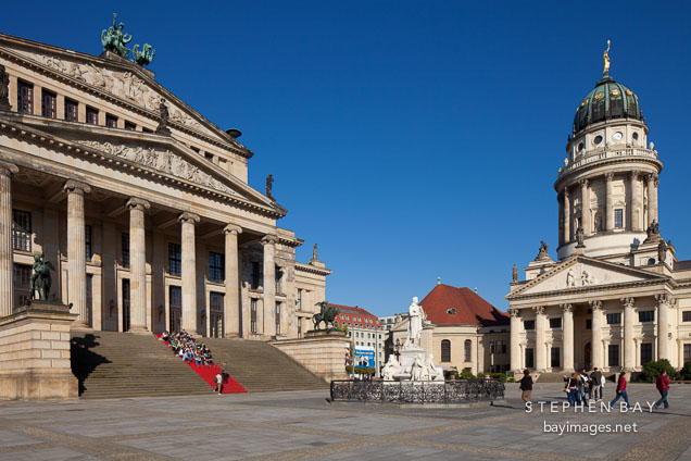 Gendarmenmarkt Square. Berlin, Germany.
