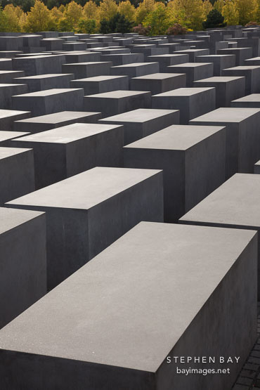 Holocaust Memorial. Berlin, Germany.
