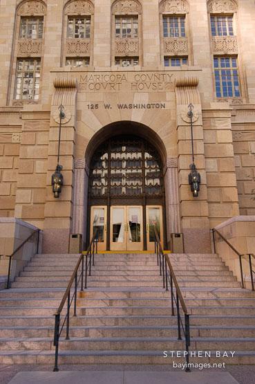Maricopa County Courthouse Phoenix Arizona Usa
