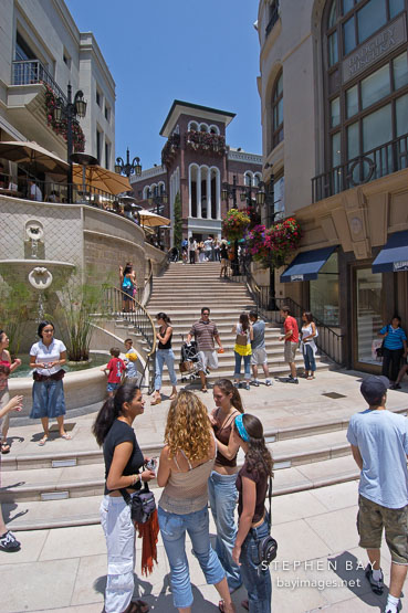 Photo Spanish Steps At Two Rodeo Drive Beverly Hills