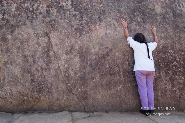 Sacred Rock. Machu Picchu, Peru.