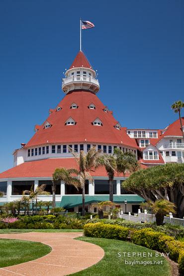 Hotel del Coronado. San Diego, California.