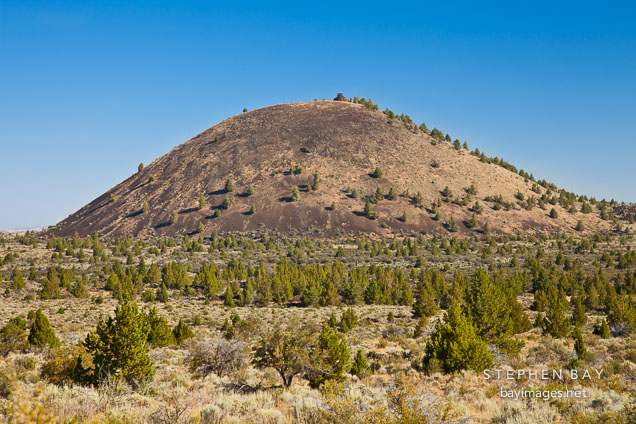 Schonchin Butte. Lava Beds National Monument, California.