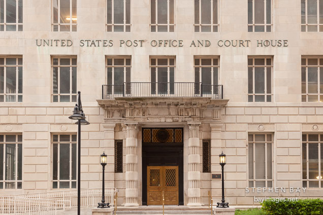 United States Post Office and Courthouse. Dallas, Texas.
