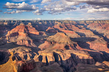 Late afternoon view of the Grand Canyon from the South Rim. Grand Canyon NP, Arizona. - Photo #17300