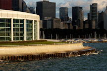 The Shedd Aquarium sits on the shores of Lake Michigan. Chicago, Illinois, USA. - Photo #10700