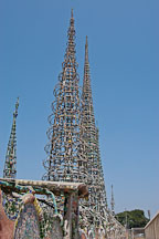 Watts Towers. Watts, Los Angeles, California, USA. - Photo #6800