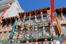 Lanterns in Chinatown. San Francisco, California, USA. - Photo #12601