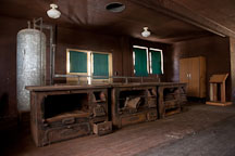 World War II mess hall at Angel Island Immigration Station. Angel Island, California. - Photo #22001