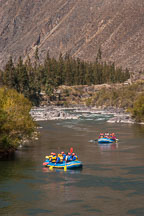 Rafting on the Urubamba river. Sacred Valley, Peru. - Photo #9201