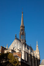 Spire of Saint Chapelle. Paris, France. - Photo #31001