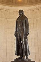 Statue of Thomas Jefferson. Jefferson Memorial, Washington, D.C. - Photo #29101